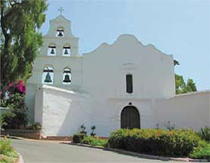 California's first mission, Mission San Diego de Alcala