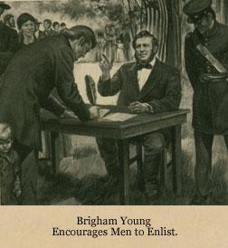 Mormon Men Enlist