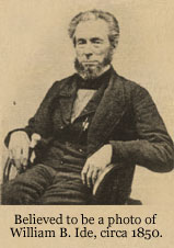 William B. Ide, circa 1850
