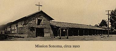 Mission Sonoma, circa 1910