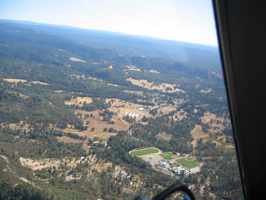 Aerial of Pleasant Valley